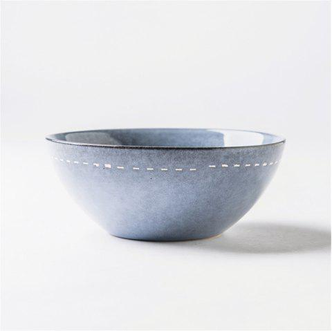 6.5 Inches Modern Style Ceramic Bowl Salad noodle rice bowl tabelware dinnerwar - PASTEL BLUE
