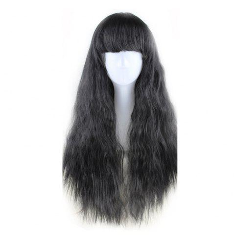 New Long Curly Corn Hot Fashion Fluffy Style 5 Colors Optional - multicolor B 1PC