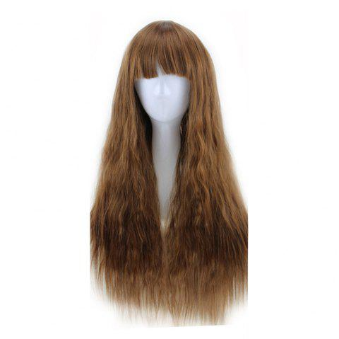 New Long Curly Corn Hot Fashion Fluffy Style 5 Colors Optional - multicolor C 1PC