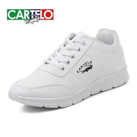 CARTELO Women's Shoes Fashion Sportswear Shoes - WHITE EU (38-39)