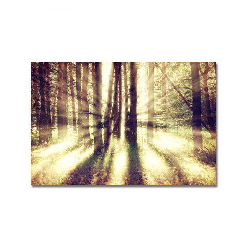 DYC Forest Sunrise Landscape Print Art - multicolor