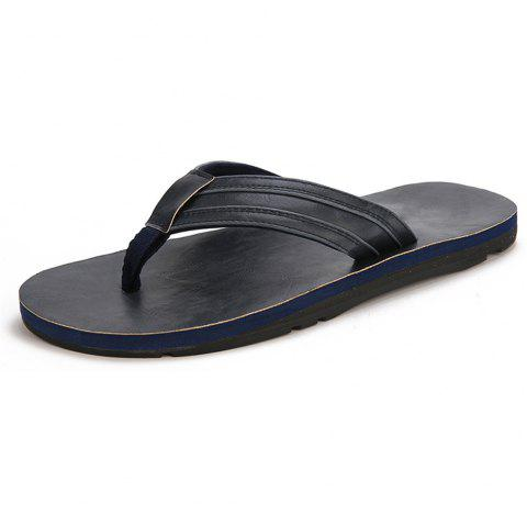 Men'S Four Seasons Home Leisure Slippers - DEEP BLUE EU 40