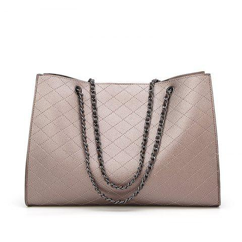 New Fashion Diamond Chain Mother Bag Shoulder Bag/Office/ Career/Daily - GOLD