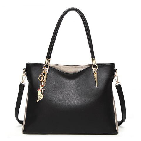 New Fashion High-Capacity Handbags Messenger Bag/Office/Daily - BLACK