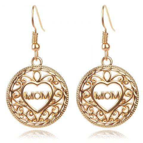 Ethnic Style Fashion Lady's Mom  Earrings - GOLD