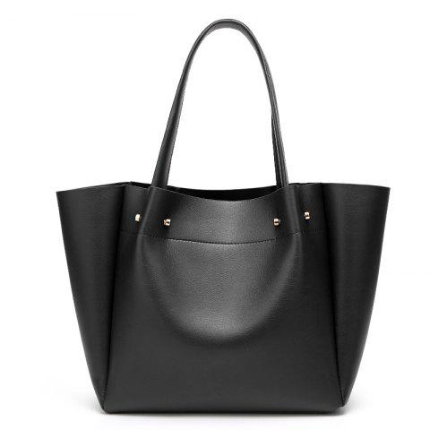New Stylish Minimalist Women'S Bags/Office /Daily/Winter/Summer/Spring/Fall - BLACK