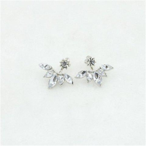 Ms Xiao Qingxin Exquisitely Drills Horse-Eye Ear Nails - SILVER