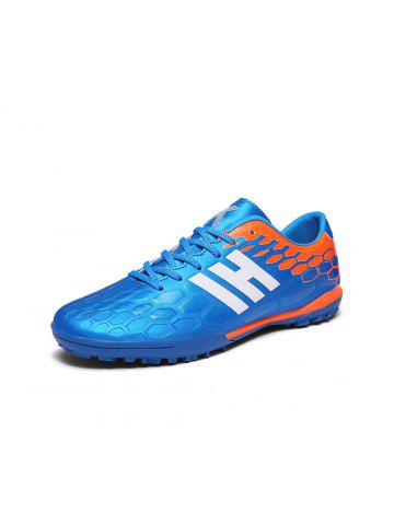 206cb069d35 Male and Female Adult Broken Nail Soccer Shoes Youth Turf Leather Training  Shoes