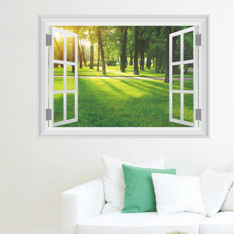 Sunshine Forest Removable Waterproof Wall Sticker for Home Decoration - multicolor 20 X 28 INCH