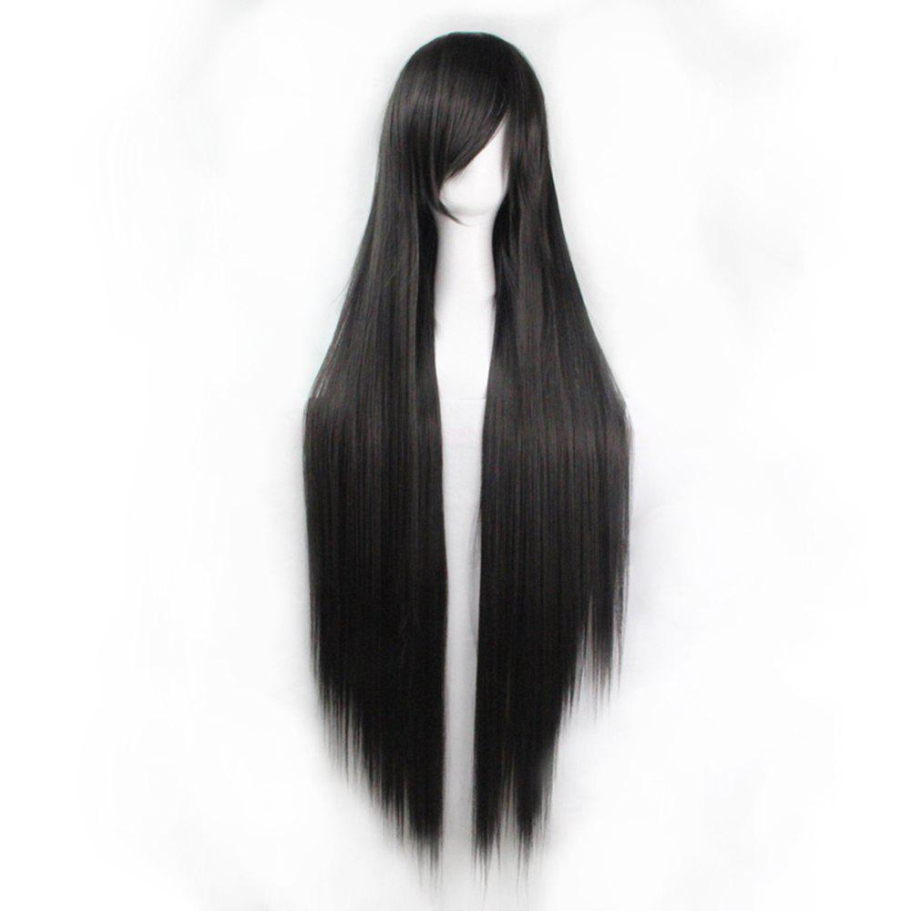 Image of 100 Cm Long Straight Hair Wig