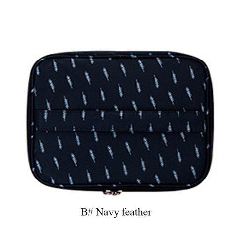58fd3aa542 2 Styles Man Women Zipper Large Waterproof Travel Cosmetic Bag Wash  Toiletry Bag - multicolor O