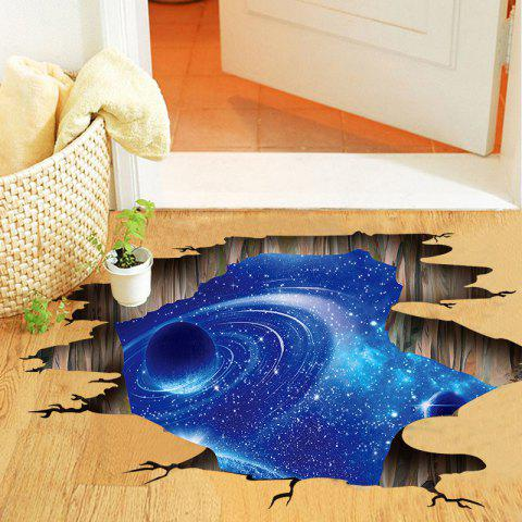D Wall Stickers Vast Universe Starry Sky PVC Removable Three-Dimensional Sticker - multicolor 24 X 36 INCH