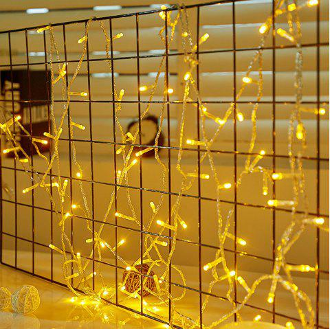LED Lantern Festival Decoration Wall Lamp String 10 Meter 100 Light - WARM WHITE US PLUG (2-PIN)