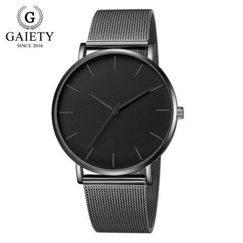 GAIETY G581 Women'S Watch Simple Ultra-Thin Large Dial Mesh with Quartz Watch - multicolor G