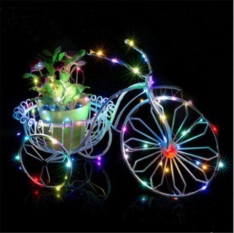 LED Lanterns Starry Night Lights Remote Control Eight Functions - multicolor 5M