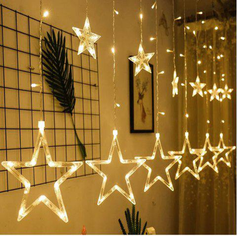 Lanterne LED Starry Star Light Veilleuse 8 fonctions 220V - Blanc Chaud EU PLUG