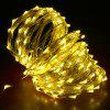 DC12V 30M Copper Wire Lamp Outdoor Starry Sky Birthday Party LED Lights String - WHITE 30M