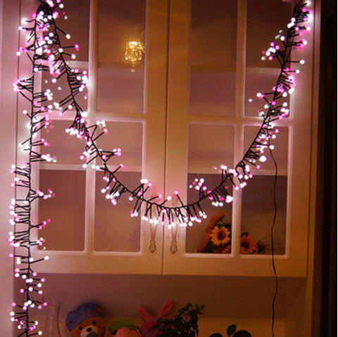 400-LED Firecracker Style String Light for Decoration - multicolor US PLUG (2-PIN)