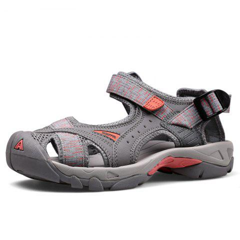 fef39c370 HUMTTO Outdoor Women  s Sandals Anti-collision Quick Drying Summer Beach  Shoes - GRAY