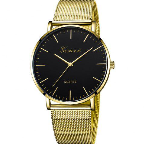 Women's Fashion Watch Stainless Steel Bands Womens Watches quartz Watch - multicolor B