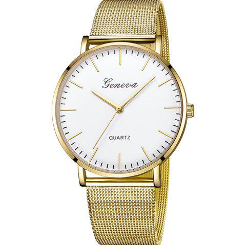 Women's Fashion Watch Stainless Steel Bands Womens Watches quartz Watch - multicolor C