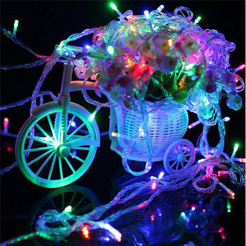 UK Plug 220V LED Lanterns Gypsophila Firefly Stars Light Strings 20M 200 Lights - multicolor 20M 200LED