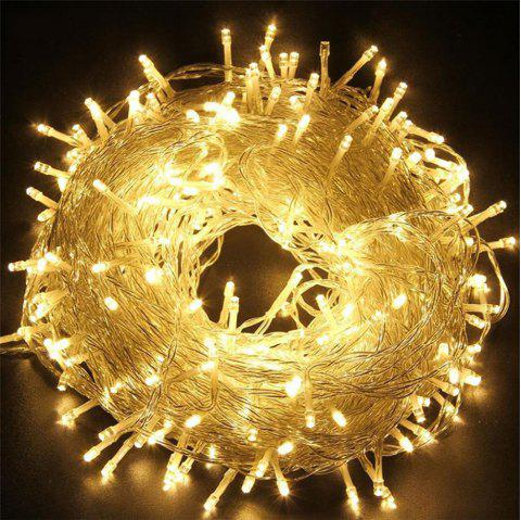 UK Plug 220V LED Lanternes Gypsophila Firefly Stars Light Cordes 50M 400 Lumières - Blanc Chaud 50M 400LED