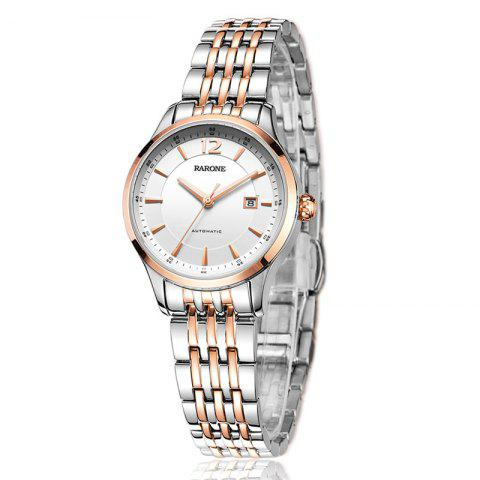 RARONE Female Fashion Business Automatic Mechanical Watch - ROSE GOLD