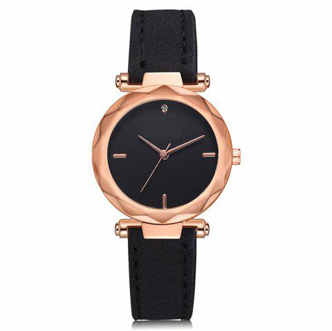 Quartz Watch Fashion Leisure Women Students Watch - multicolor A