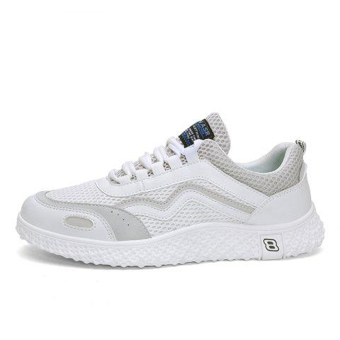 Chaussures Hommes Casual Hommes S663 - Blanc EU 44