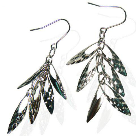 925 Sterling Silver Gold Plated Jewelry Drop Earrings - multicolor B
