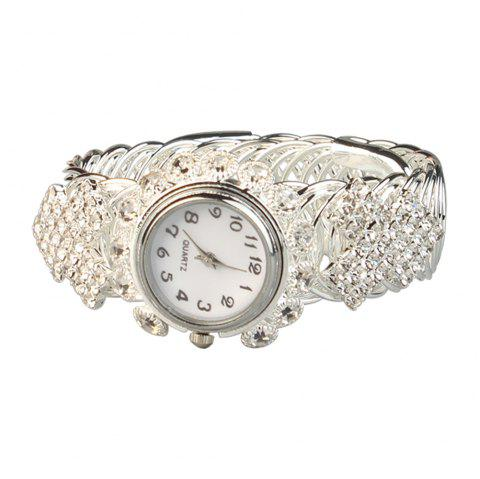 New Fashion Simple Bracelet Watch-A - SILVER