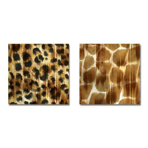 DYC Leopard Grain Decoration 2PCS - multicolor