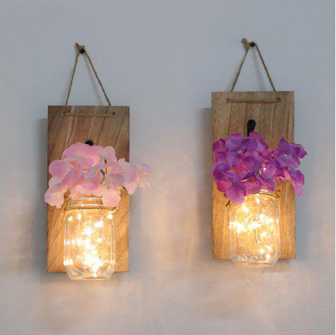 Wall Decorative Pendant Decorative Lights String - PINK 1PC
