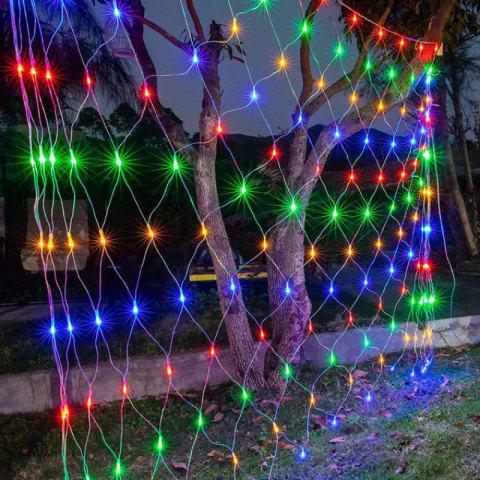 LED Fishnet Light Decorative Light String - multicolor B 1.5*1.5M