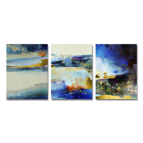 DYC Art Motif Abstrait Print Art 3PCS - multicolor