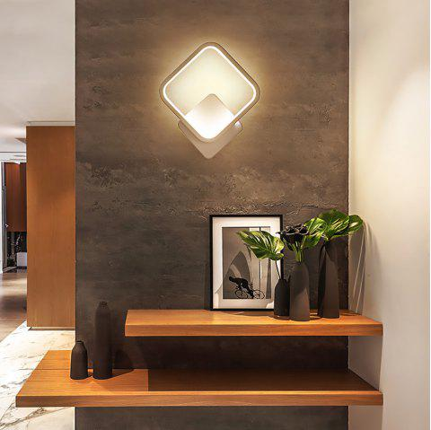 Modern Simple Square Wall Lamp - WHITE 18W