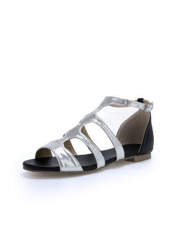 b0589c15d1d8 2019 Flat Heel Sandals Online Store. Best Flat Heel Sandals For Sale ...