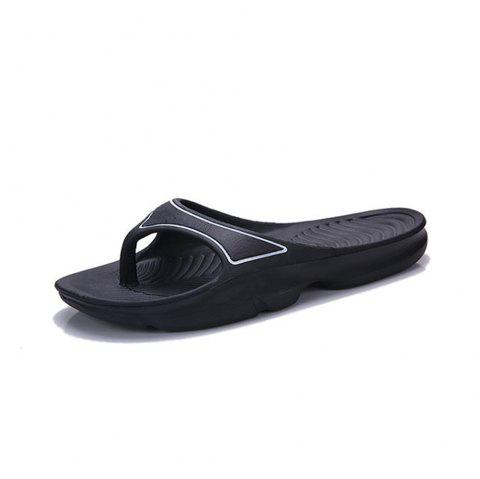 Fashion Breathable Low-top Canvas Slippers for Women - BLACK EU 40