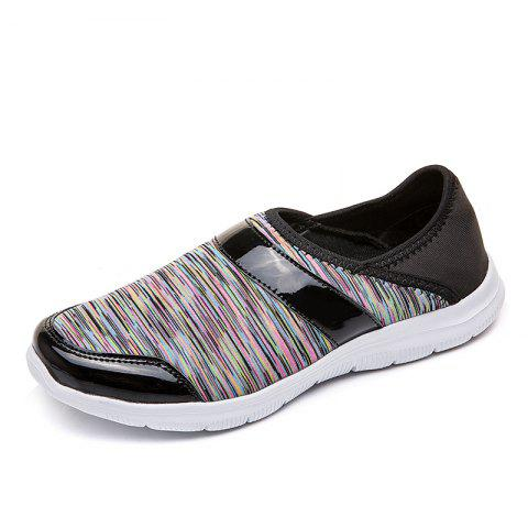 Large Size Slip-on Lightweight Non-Slip Shock-Absorbing Mesh Casual Shoes Women - multicolor A EU 41