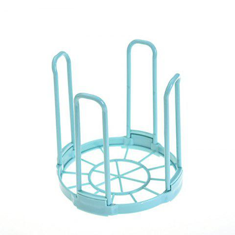 Kitchen Plastic Storage Bowl Rack Storage Rack - LIGHT BLUE