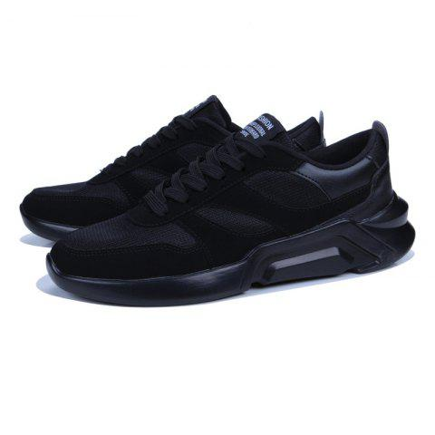 Spring and Summer New Trend Sports and Leisure Running Shoes - BLACK EU 41