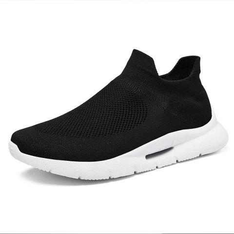 Summer New Casual Sports Breathable Mesh Shock-absorbing Running Shoes for Men - multicolor A EU 43