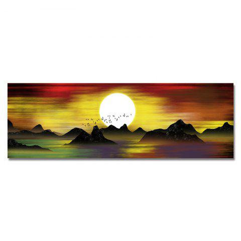 DYC Beautiful Landscape Sunrise Scenery Print Art - multicolor