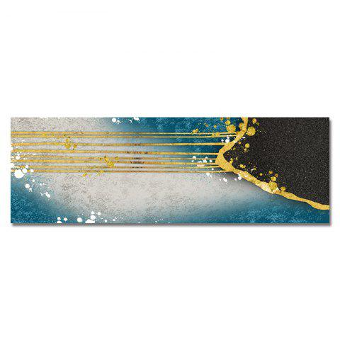 DYC Interesting Abstract Collision Pattern Print Art - multicolor