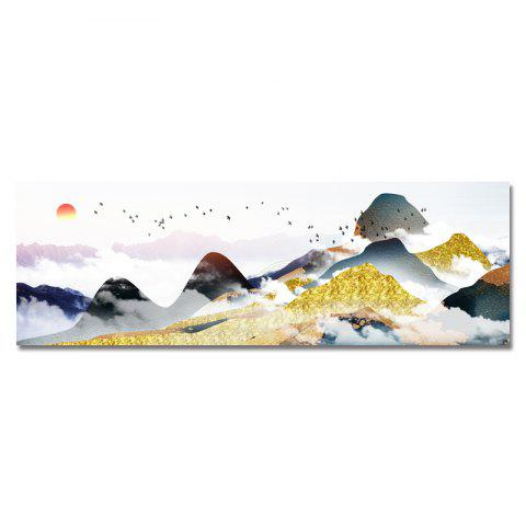DYC Sunrise Scenery on The Clouds Print Art - multicolor