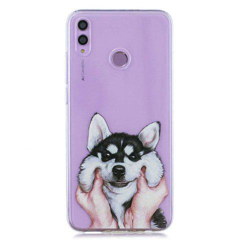 Dog Painting TPU Phone Case for Huawei Honor 8X - multicolor