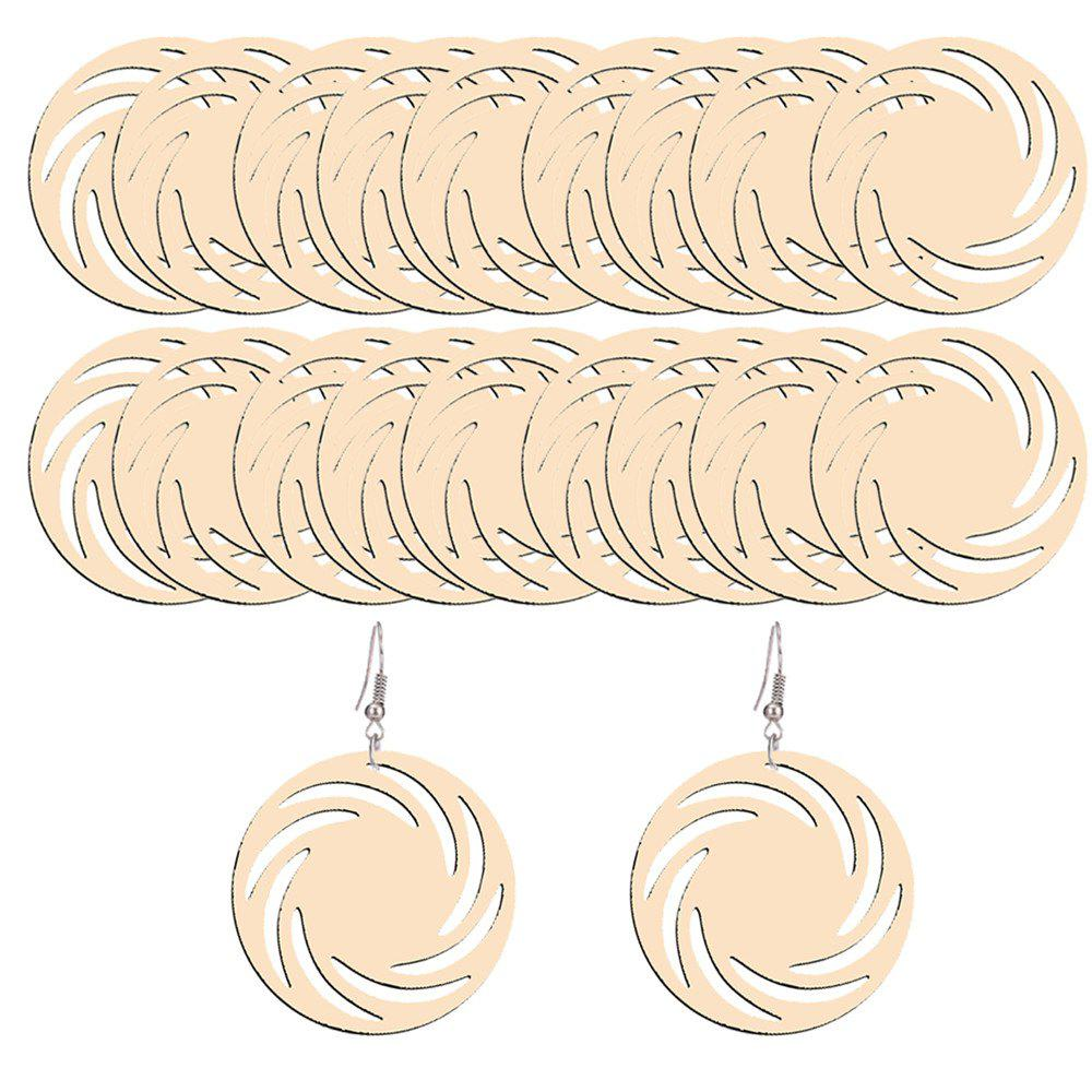 200105 European and American Fashion Earrings and Earrings (40 Sets) - SANDY BROWN