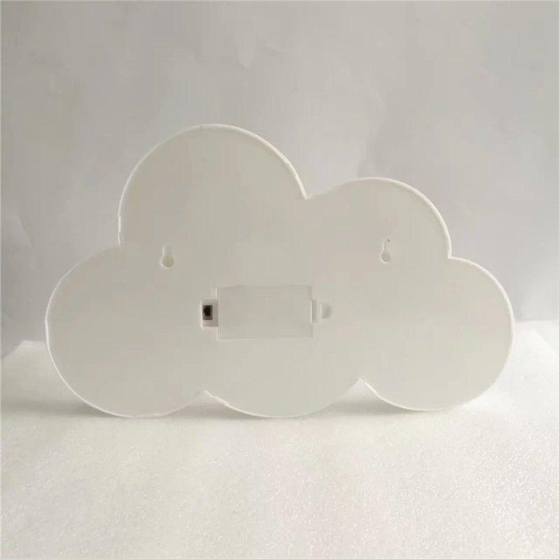 Home Decoration Clouds Shape Decoration LED Night Light Table Lamp - WHITE