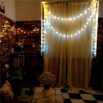 10M 8-modes 100pcs Stars Light String Warm White Lights Decorative Lights -  WHITE